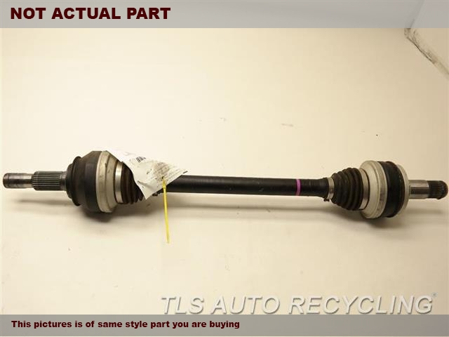2017 Lexus IS200T Axle Shaft. RH,(REAR), R.