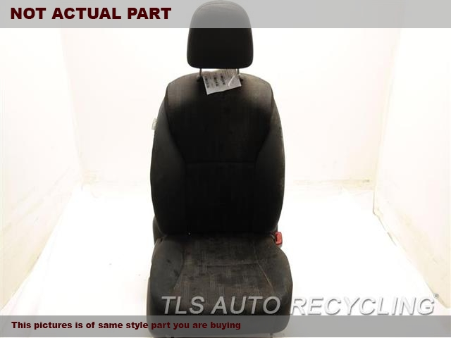 2015 Toyota Camry Seat, Front. RH,BLK,CLO,BUC,(BUCKET), (AIR BAG)