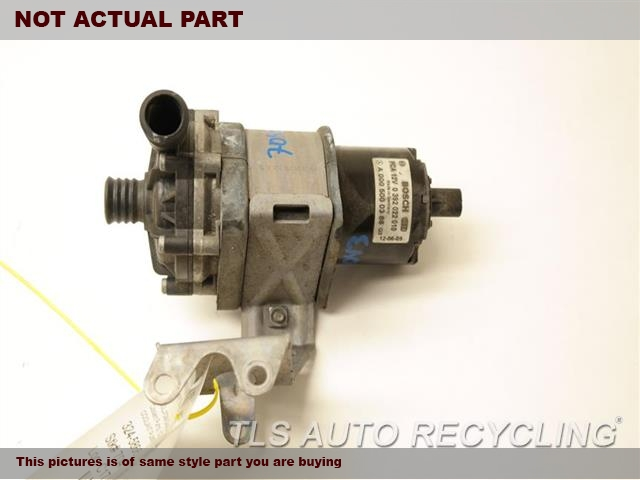 2015 Mercedes E400 water pump engine. AUXILIARY COOLANT PUMP 0005000386