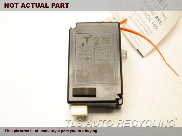 2016 Toyota Prius Chassis Cont Mod. TIRE PRESSURE MONITOR SYSTEM897B0-47020 ELECTRICAL KEY & TPMS