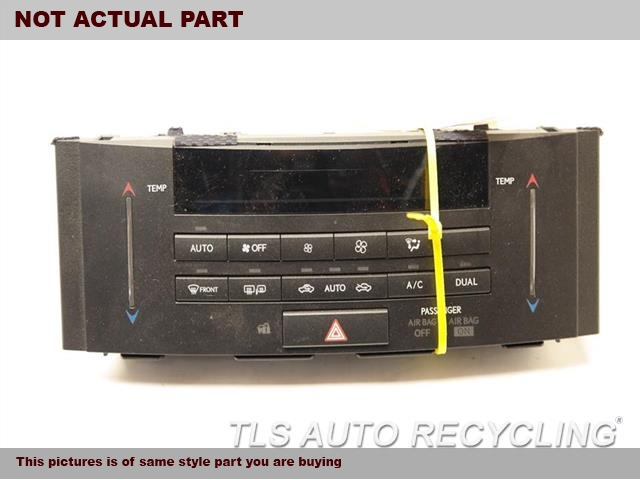 2015 Lexus RC350 Temp Control Unit. BLK,TEMPERATURE CONTROL