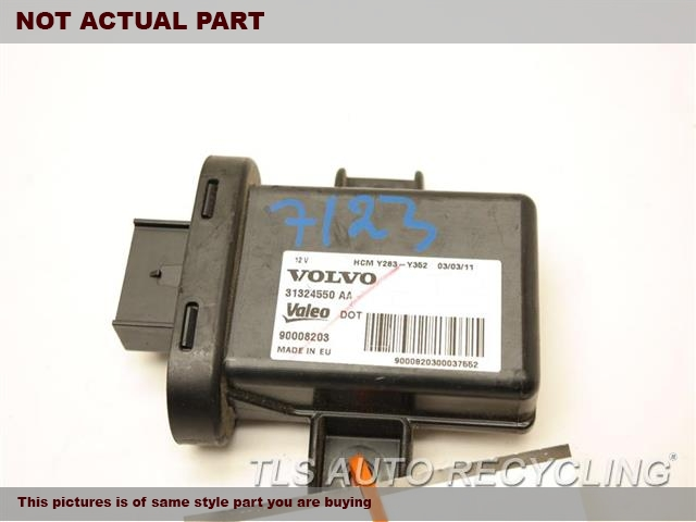 2012 Volvo S60 Chassis Cont Mod. 3132460831324550 HEADLAMP CONTROL MODULE