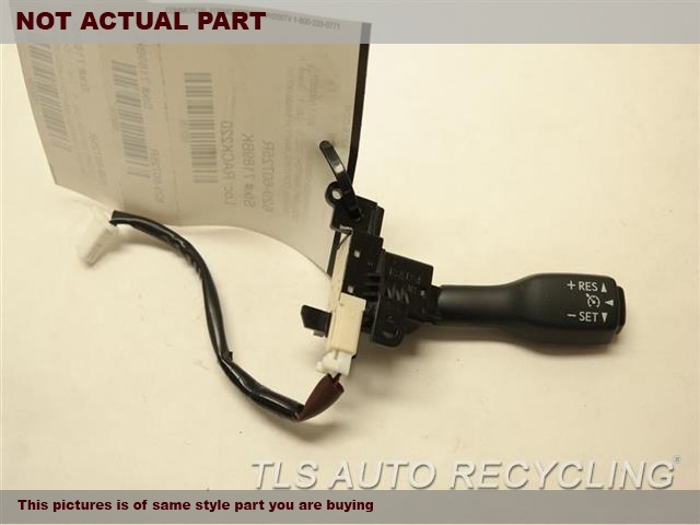 2013 Lexus ES 350 Column Switch. RH,CRUISE (R.), W/O PRE-CRASH SYSTE