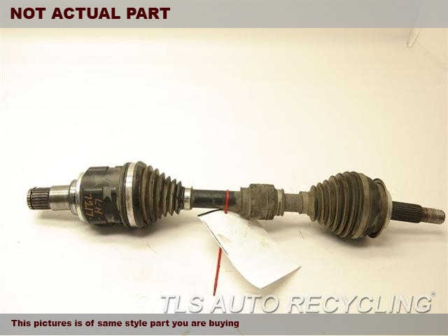 2012 Toyota PRIUS V Axle Shaft. DRIVER FRONT AXLE SHAFT 43420-12A60