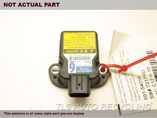 2012 Toyota Corolla Chassis Cont Mod. YAW RATE SENSOR 89183-48030
