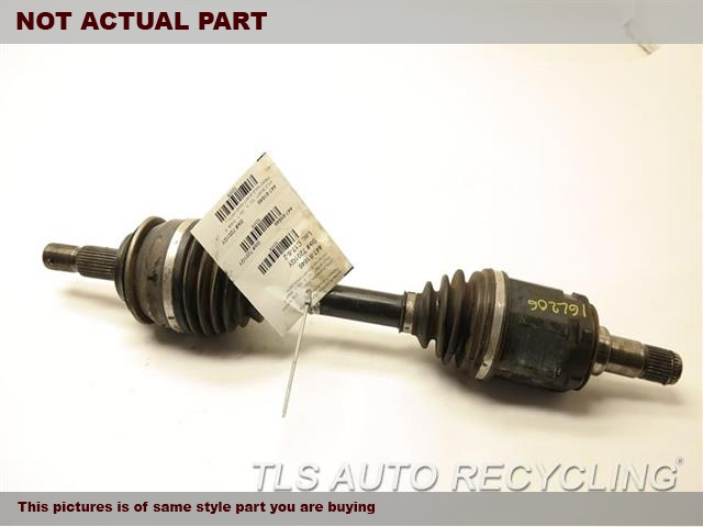2006 Toyota Tacoma Axle Shaft. FRONT AXLE SHAFT 43430-04070