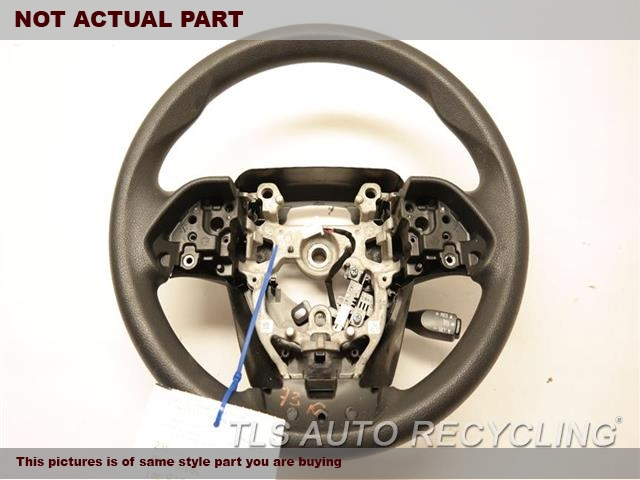 2016 Toyota Prius Steering Wheel. 45100-47230-C0 84250-47620-C0 BLACK STEERING WHEEL W/PAD ASSEMBLY