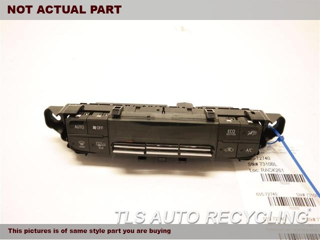 2016 Toyota Prius Temp Control Unit. TEMPERATURE CONTROL 55900-47190