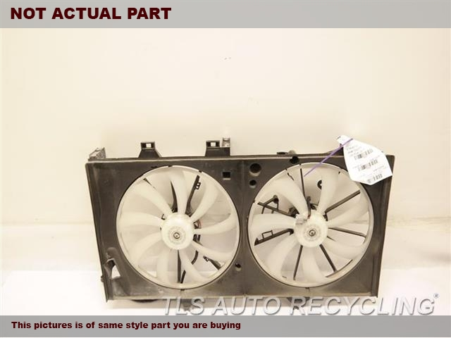2013 Lexus ES 350 Rad Cond Fan Assy. FAN ASSEMBLY