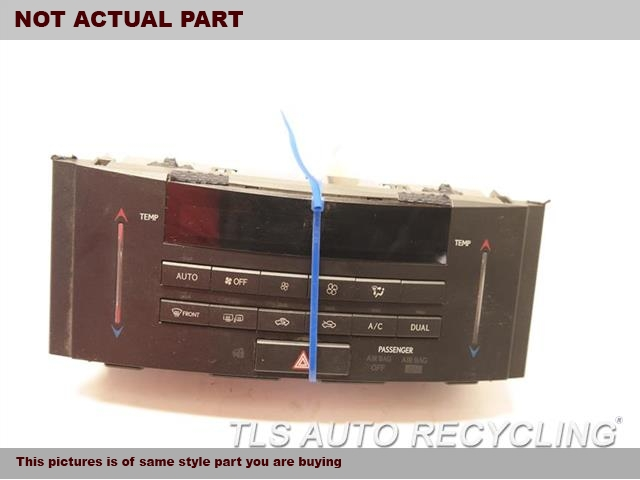 2014 Lexus IS 250 Temp Control Unit. TEMPERATURE CONTROL 55900-53191
