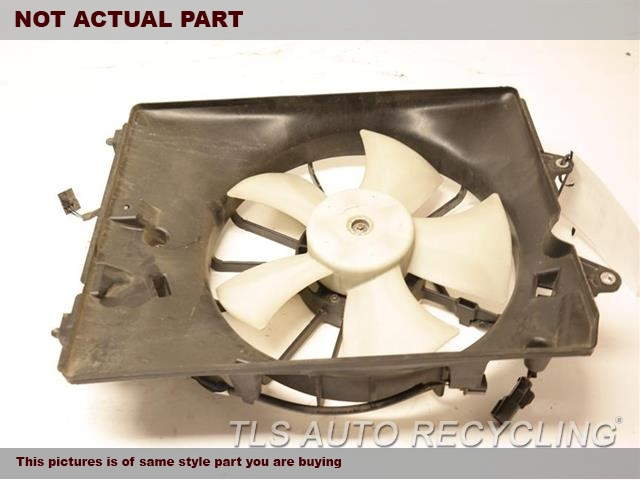 FAN ASSEMBLY, CONDENSER