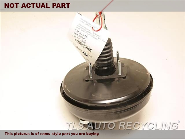 2018 Toyota Camry Brake Booster. 2.5L, A25AFKS ENGINE, NORTH AMERICA