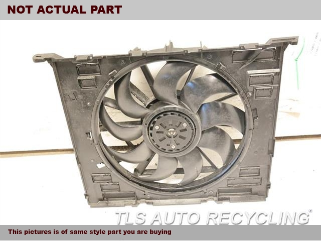 2017 Bmw 740i Rad Cond Fan Assy  FAN ASSEMBLY, (RADIATOR, 600 WATT)