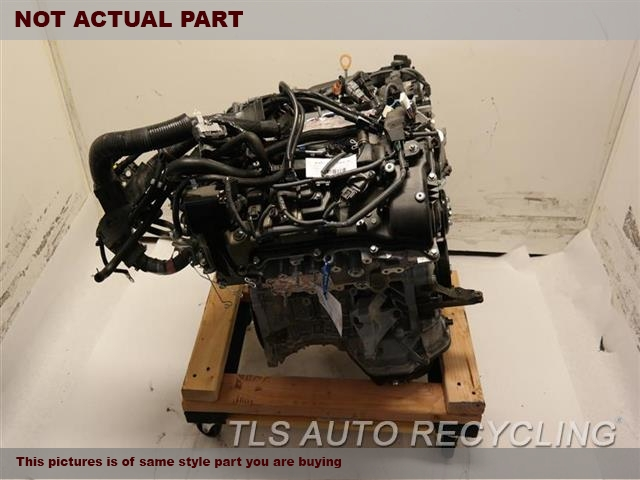 2017 Toyota Sienna Engine Assembly W/OIL COOLER ENGINE ASSEMBLY 1 YEAR WARRANTY