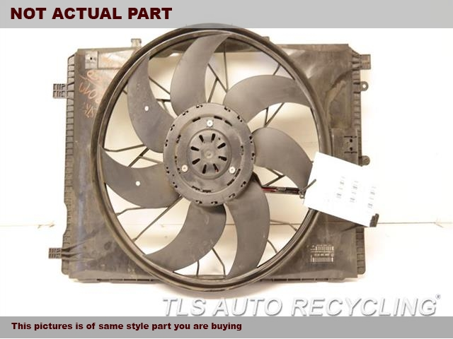 2014 Mercedes E350 Rad Cond Fan Assy. 212 TYPE, FAN ASSEMBLY, SDN, E350