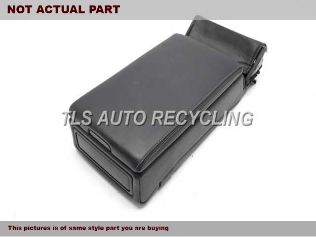 2009 Lexus IS 250 Console front and Rear.  72830-53180-C0BLACK CENTER CONSOLE LEATHER LID