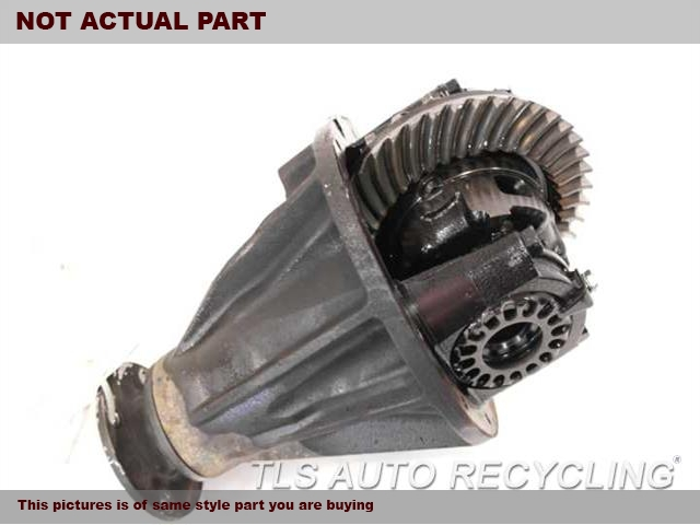 2007 Toyota FJ Cruiser Rear differential. REAR AXLE, 3.73 RATIO (AT)