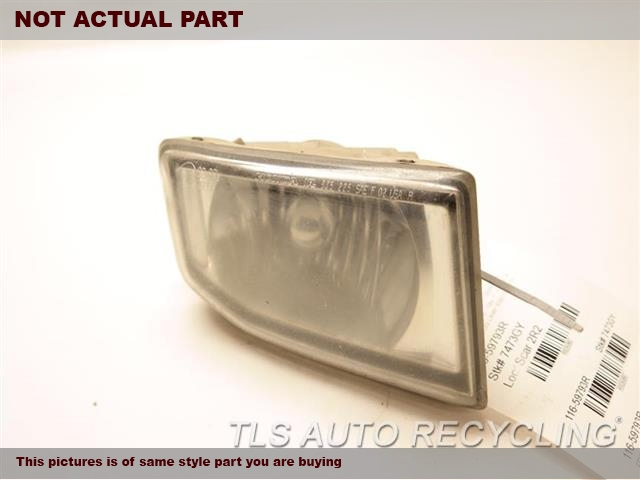 2005 Acura MDX Front Lamp. RH,FOG-DRIVING, (BUMPER MOUNTED), R