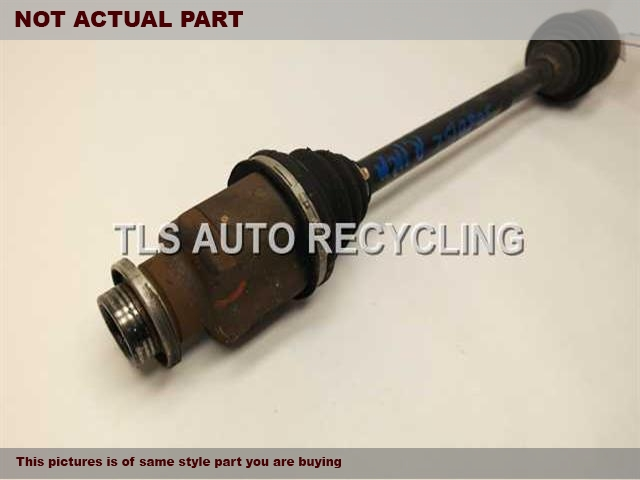 2008 Acura MDX Axle Shaft. PSSNGER REAR AXLE SHAFT 42310STXA01