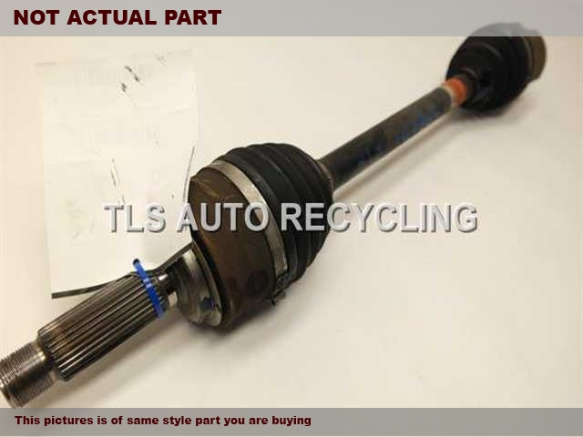 2008 Acura MDX Axle Shaft. 44306-STX-A02DRIVER FRONT AXLE SHAFT