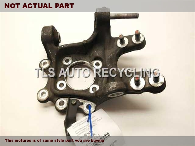 2008 Acura MDX rear nuckle / stub axle. 52210STXA02  42200STXA02PASSENGER REAR KNUCKLE W/HUB