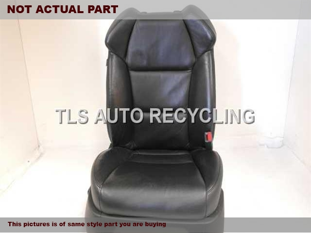 2008 Acura MDX Seat, Front. 81110-STX-A01 81137-STX-A41 81127-STX-A01GRAY PASSENGER FRONT LEATHER SEAT