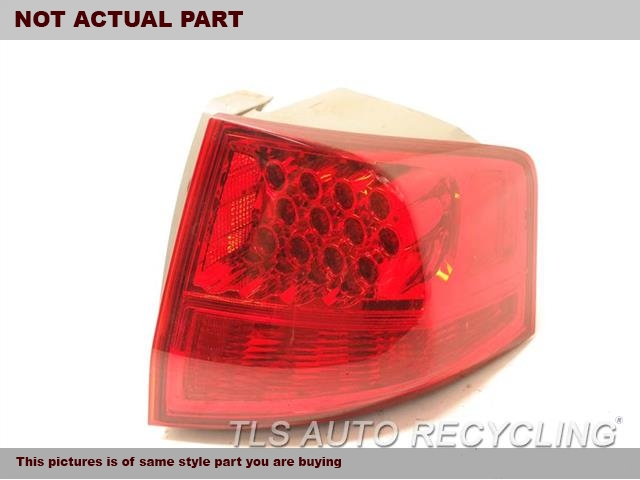 2007 Acura MDX Tail Lamp. RH,QUARTER PANEL MOUNTED, R.