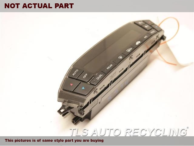 2007 Acura Mdx Temp Control Unit  GRY,FRONT (DASH), US MARKET, SPORT