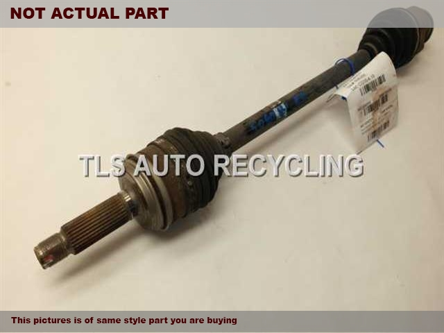 2011 Acura MDX Axle Shaft. 42310STXA01PASSENGER REAR AXLE SHAFT