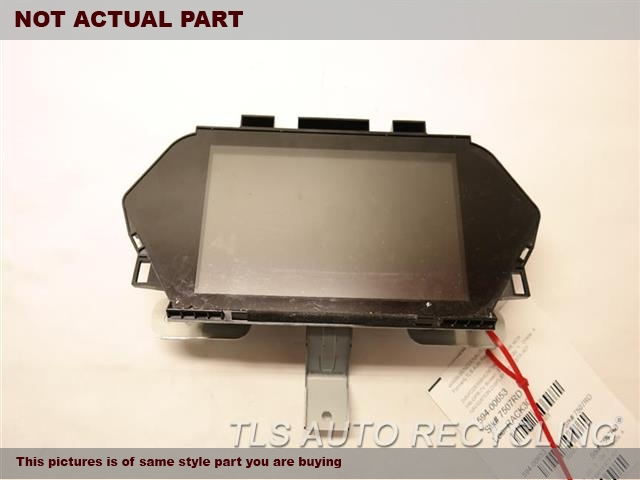 2007 Acura MDX Navigation GPS Screen. DISPLAY SCREEN, DASH, NAVIGATION