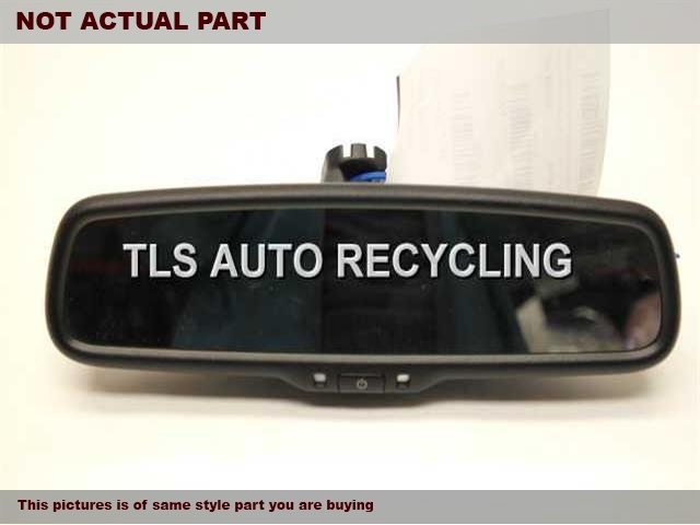 2012 Acura TL Rear View Mirror Interior. BLACK REAR VIEW MIRROR 76400-SEC-A12