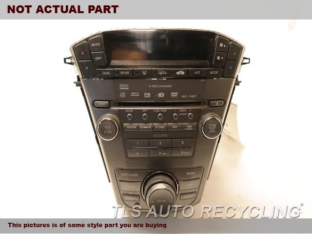 2007 Acura MDX Radio Audio / Amp. RECEIVER, US MARKET, TECH, VIN 3