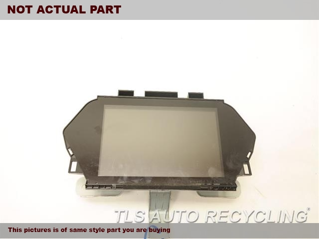 2008 Acura MDX Navigation GPS Screen. NAVIGATION DISPLAY 39810-STX-A01