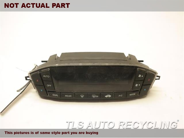 2007 Acura MDX Temp Control Unit. FRONT (DASH), US MARKET, TECH, VIN
