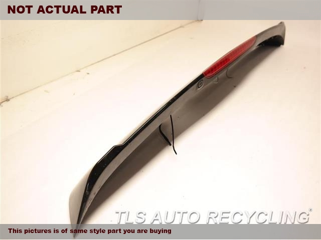 BLACK REAR SPOILER 74900-STX-305ZN