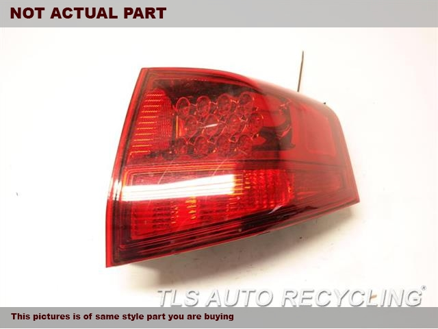 2010 Acura MDX Tail Lamp. RH,QUARTER PANEL MOUNTED, R.