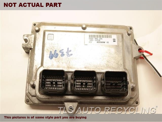 2011 Acura MDX Eng/Motor Cont Mod. 37820-RYE-A76 ENGINE CONTROL COMPUTE