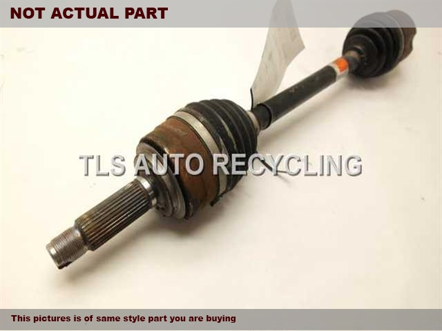 2010 Acura MDX Axle Shaft. LH,FRONT AXLE, OUTER, L.