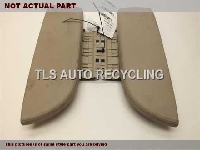2008 Acura MDX Console front and Rear. 83415-STX-A02ZA 83410-STX-A02ZAGRAY CENTER CONSOLE LID LEATHER