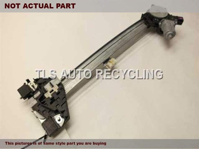 2008 Acura MDX Dr Window Reg, Rr. 72710-STX-A02PASSENGER REAR REGULATOR W/MOTOR