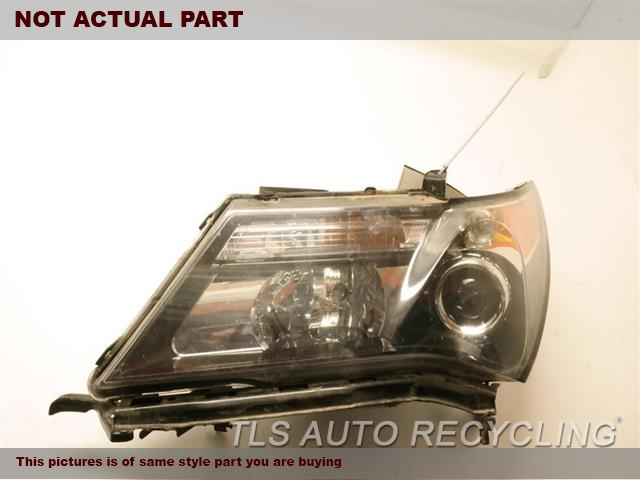 2010 Acura MDX Headlamp Assembly. LH,(XENON, HID), TECH, L.