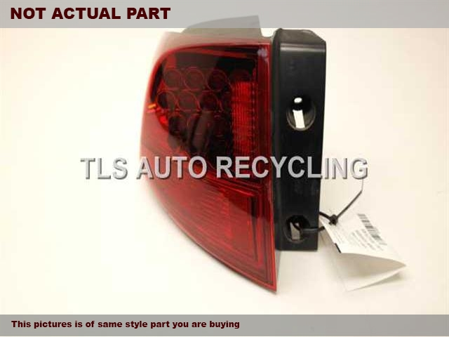 2010 Acura MDX Tail Lamp. LH,QUARTER PANEL MOUNTED, L.