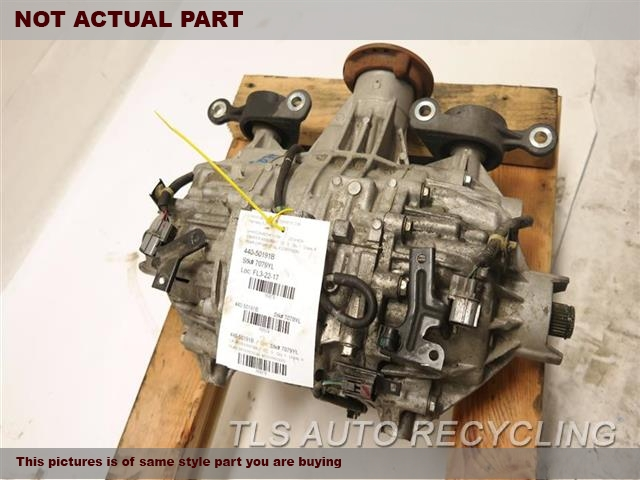 2008 Acura MDX Rear differential. REAR DIFFERENTIAL 41200RWG080