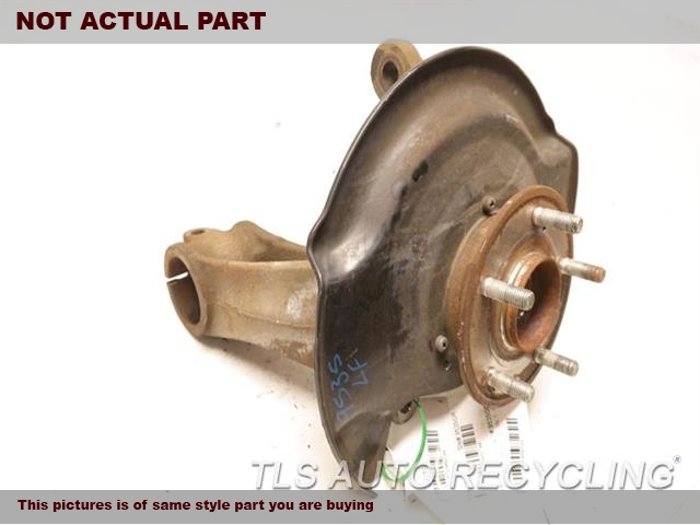 2014 Acura MDX Spindle Knuckle, Fr. LH
