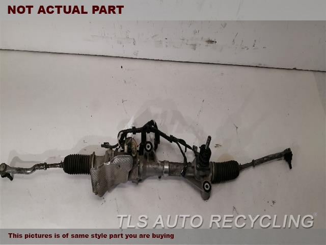 2014 Acura MDX Steering Gear Rack. POWER RACK AND PINION
