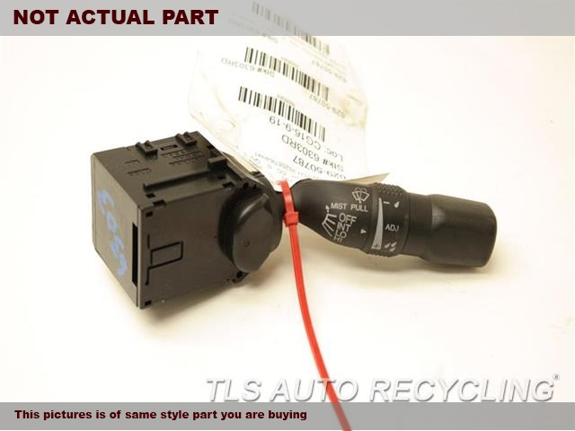 2012 Acura TL Column Switch. WIPER SWITCH 35256TK4H41