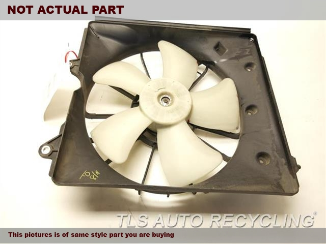 2012 Acura TL Rad Cond Fan Assy. 19015RK1A01 19020RGLA01DRIVER RADIATOR FAN ASSEMBLY
