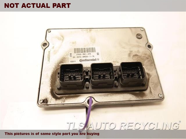 2012 Acura TL Eng/Motor Cont Mod. 37820RK1A77 ENGINE CONTROL COMPUTER