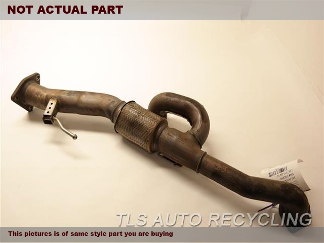 2012 Acura TL Exhaust Pipe. FRONT EXHUAST PIPE 18210TK4A01