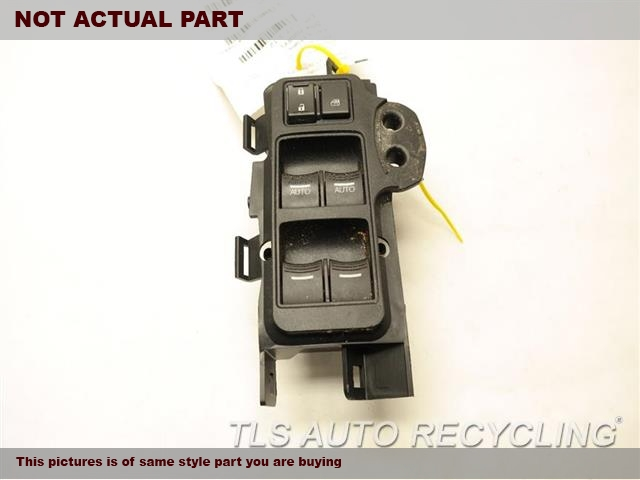 2012 Acura TL Door Elec Switch. MASTER WINDOW SWITCH 35750TK4A01